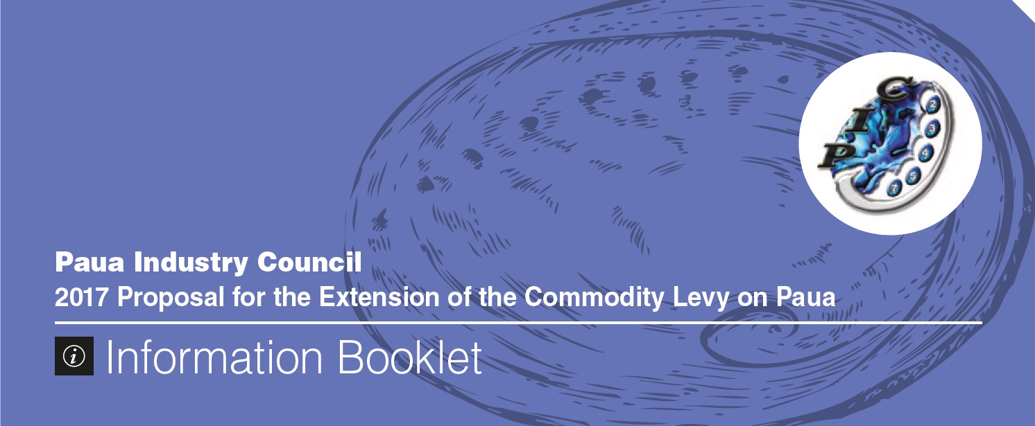 Proposal for the Extension of the Commodity Levy
